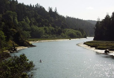 Big River, Mendocino County, California