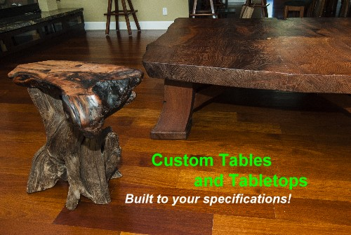 Custom Tables and Tabletops - Built to your specificaitons